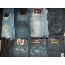 Kit Com 6 Calça Jeans Masculina Hollister, Abercrombie, Calv