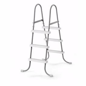 Escada Dupla Intex 3 Degraus P Piscina Inflável E Estrutural