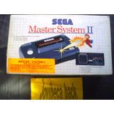 Consola Sega Master System Ii Completa, Nueva