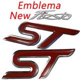 Emblema New Fiesta St - Resinado
