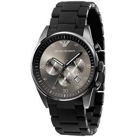 Relógio D206043 Emporio Armani Ar1400 Ceramica Preto