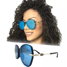 c96b1babcfe97 Culos De Sol Chanel Lilas Outras Marcas - Óculos no Mercado Livre Brasil
