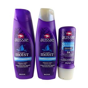Aussie Kit - Sh 400ml + Cd 400ml + Máscara Moist Pomoção!!!!
