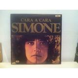 Simone Cara A Cara Vinilo Nacional 1977 Chico Buarque