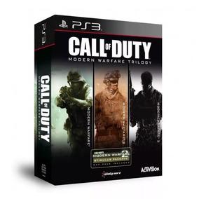 Call Of Duty Trilogia Do Modern Warfare - Ps3 - Mídia Física