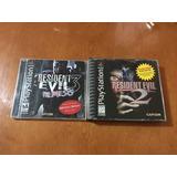 Resident Evil 2 Y 3 Nemesis Con Demo Dino Crisis Play