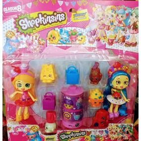 Boneca Shopkinsins Kit Com 2 Bonecas E Acessórios!