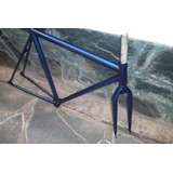 Cuadro Y Horquilla R 28 Ahead 1 1/8 P/ Bicicletas Fixie