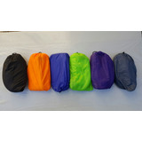Sillon Inflable Sofa Lazy Bag Colchon De Aire Playa Azul