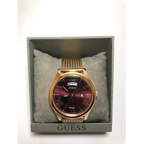 Reloj Guess Metropolitan Rosado Caballero W0923g3