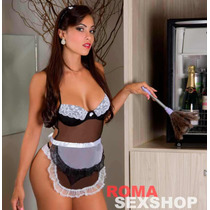 Fantasia Sexy Doméstica Erótica Empregada Sensual