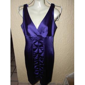 Calvin Klein***vestido Morado Talla 6***