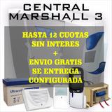 Kit Alarma Marshall 3 Completa! 12cuotas S/int Envio Gratis!
