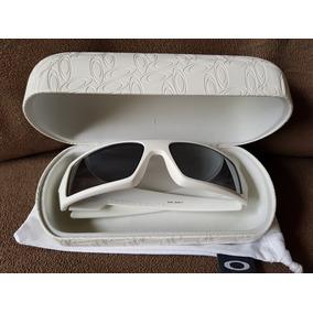 b6094c2c8a6f2 Oakley Gascan Branca - Óculos no Mercado Livre Brasil