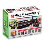 Consola Atari Flashback 7 101 Juegos Con 2 Joysticks Inalamb