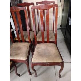 5 Antigas Cadeiras Em Madeiras Chipandelle
