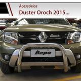 Defensa Renault Oroch 2016 Cromada