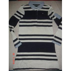 Vestido De Niña Tommy Hilfiger Talla S 6 - 7 Original