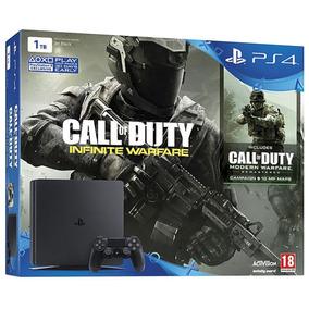 Playstation 4 Slim 500gb Ps4 + Call Of Duty Infinity Warfare