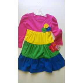 Vestido Fiorella Niña Multicolor, Talla 3, Nuevo Liverpool