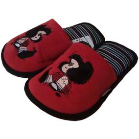 Pantuflas Mafalda Quino Originales Dos Modelos Con Envío