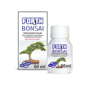 Fertilizante Forth Bonsai 60 Ml Concentrado