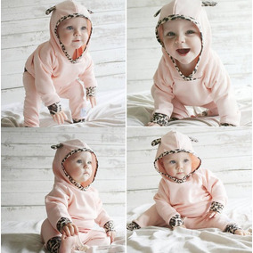 Roupa Bebê Conjunto Tipo Oncinha Menina Inverno Importado
