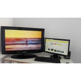 Tv Lcd Samsung 32 + Cable Hdmi + Envío Gratis C.a.b.a.
