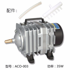 Compressor Ar Bomba P/bateria Aco-003 35w220v.resun/boyu/jad