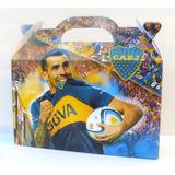 Cajita Bolsita Boca Juniors Souvenirs Pack X30