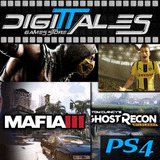 Nfs Most Wanted + Crysis 3 + Regalo! - Ps3 - Digittales