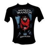 Remera - Marilyn Manson - Envios - Bandas - Brian Warner