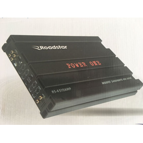 Módulo Roadstar Rs-4510 Power One 2400w 720rms Frete Gratis