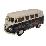 Volkswagen Clásico Del Autobús Del Hippie (1962) Escala 1/32