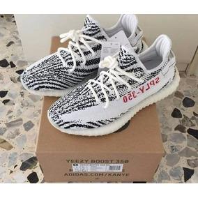 adidas yeezy hombre zebra