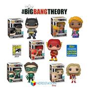 Coleção Funko Big Bang Theory Limited Edition