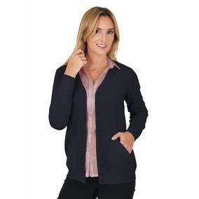 Sweater Cardigan Hilado Cristal De Mujer Mauro Sergio