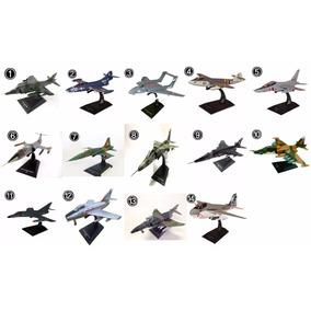 Miniatura Aviões Jatos De Combate Planeta Deagostini Altaya