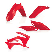 Kit Partes Plasticas Honda Crf450r  2013-16 Rojo