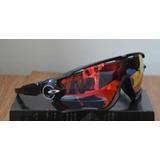 6d6c8d6976d3e Óculos Ciclismo Oakley Jawbreaker 5 Lentes Com Clip De Grau