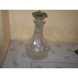 Hermoso Botellon De Vidrio Para Servir Wisky