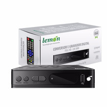 Conversor Tv Digital Lemon Lm-3000 Usb Gravador Rca Hdmi