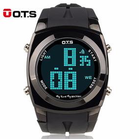 Reloj Ots Deportivo Cronometro Alarma Digital Led Acuatico