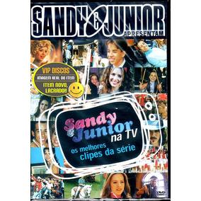 Dvd Sandy E Junior Na Tv - Original Lacrado Raro!!