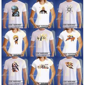 Camiseta Naruto Shippuden Anime Baby Look Camisa Desenho
