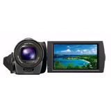 Filmadora Sony Cx160 Full Hd, Tactil G, Entrada Microfono
