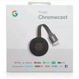 Novo Google 2018 Chromecast 2 *preto* Hdmi 1080p Netflix Sma