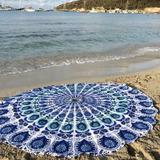 Mándalas Circulares Originales De India, Yoga, Playa, Lindas