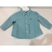 Camisa Social Polo Ralph Lauren Bebê/baby Original