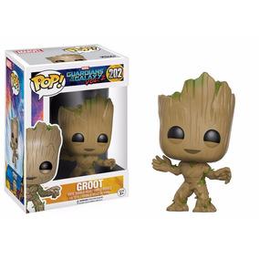 Guardiões Da Galáxia 2 Boneco Novo Baby Groot Pop Funko #202